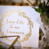 Livre d'or Luxe Ma Communion