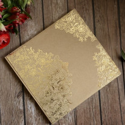 Livre d'or mariage Arabesque Or