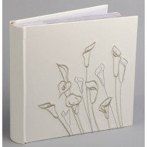 Livre d'or mariage avec Fleurs arums