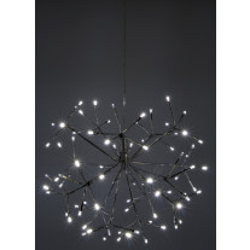 Lustre Lumineux de Noel 80 LED Blanc