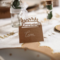 Marque place Communion kraft
