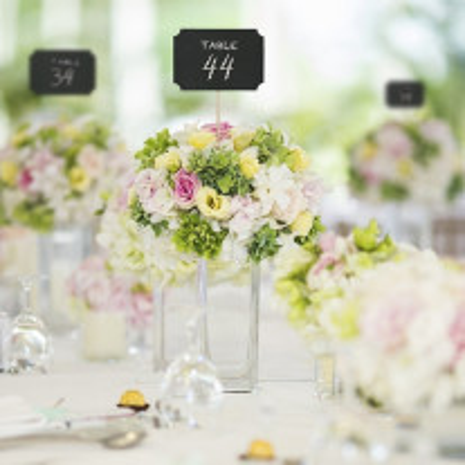 Marque Table mariage Ardoise sur Tige