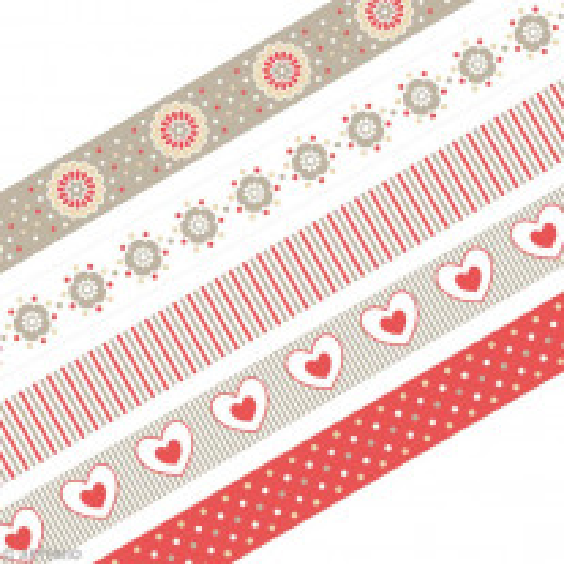 Masking tape Artemio Love Beige