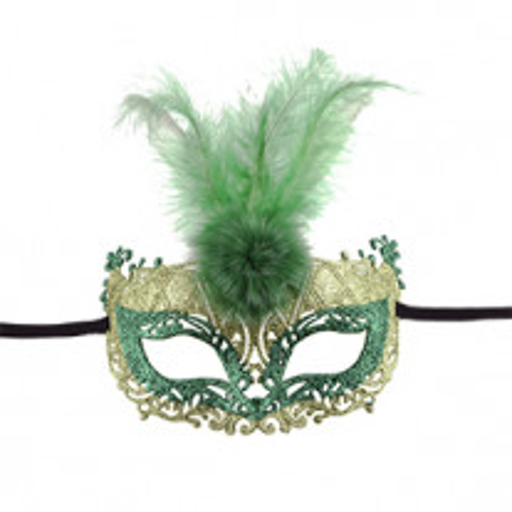 Masque loup prestige Vert anis