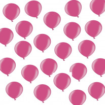Mini ballon gonflable nacré Fuchsia