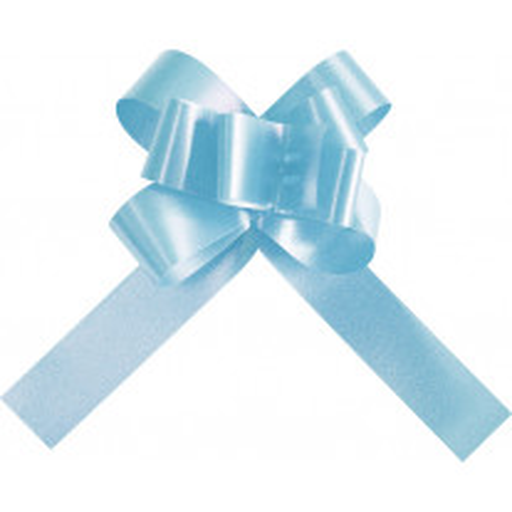 Mini noeud a tirer pas cher Bleu ciel