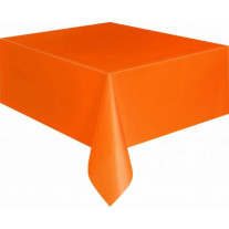 Nappe en plastique rectangulaire Orange