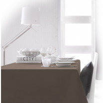 Nappe rectangulaire Bronze 150x250cm anti tache