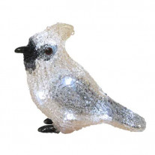 Oiseau Acrylique lumineux sur pile