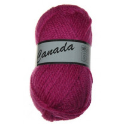 Pelote de laine Canada Lammy Yarns Fuchsia