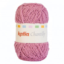 Pelote de laine Chantilly Rose de Katia