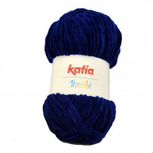Pelote de laine Bambi Bleu marine de Katia