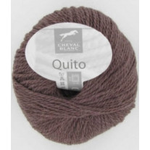 Pelote de laine discount Alpaga Quito Chocolat