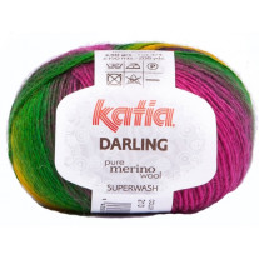 Pelote de laine Katia Darling Multicolore