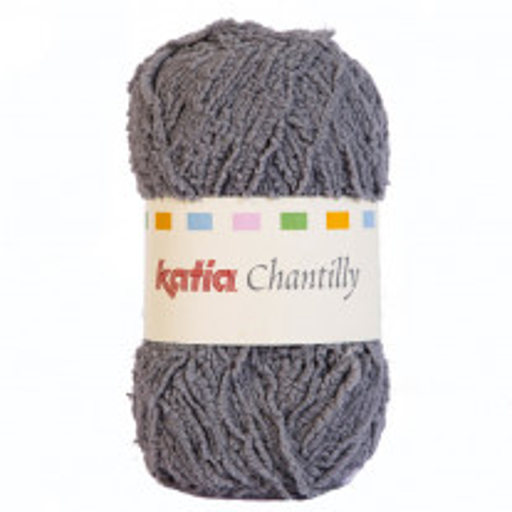 Pelote de laine layette Katia Chantilly Gris