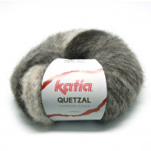Laine Katia Quetzal Marron Beige