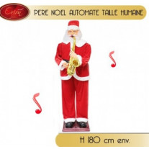 Pere noel automate 180cm