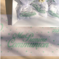 Petit Chemin de table Communion Mint