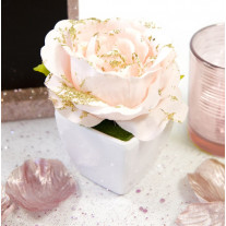 Petit pot de rose gold
