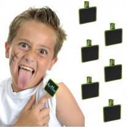 Ardoise carré Vert anis sur Pince