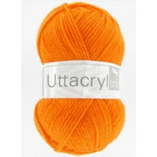 Fil à tricoter Cheval Blanc Uttacryl Orange
