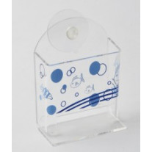 Porte coton tige acrylique Mer