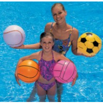 Ballon beach ball gonlable 41cm