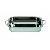 Plat rectangle tout Inox