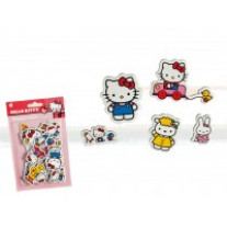 24 Autocollants en papier Hello Kitty