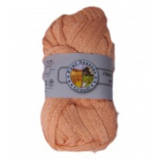 Pelote de laine echarpe Flamenco Saumon