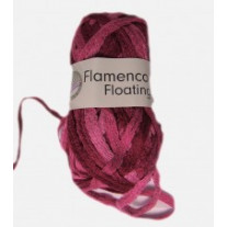 Pelote de laine flamenco floating Fuchsia