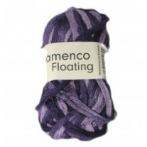 Pelote de laine flamenco floating violet
