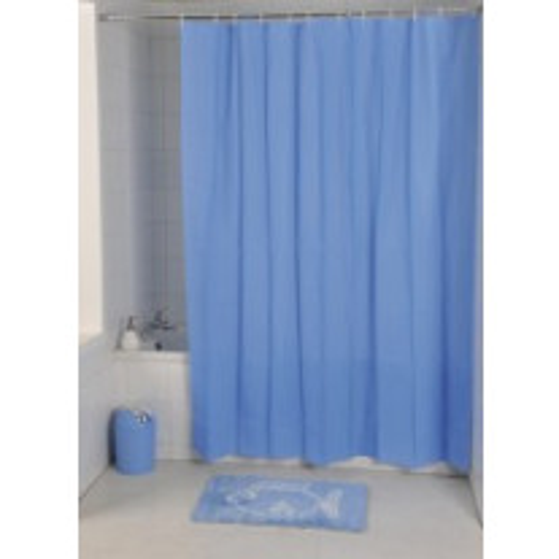 Rideau de douche Bleu Ciel