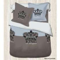 Parure de Couette Adulte King Of Sleepers
