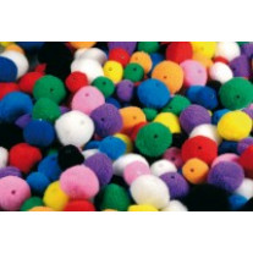 Lot de 48 pompons perles