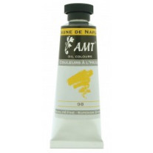 Tube de peinture à l'huile Jaune de naple 45ml