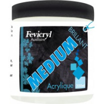 Medium acrylique brillant pot de 200ml