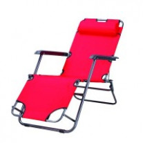 Fauteuil relax Rouge 2 Fonctions Oxford