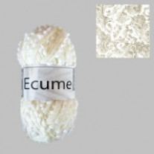 Fil à tricoter Cheval Blanc Ecume Blanc