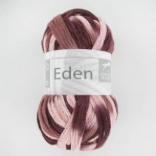 Fil à tricoter Cheval Blanc Eden Rose Marron Grenat
