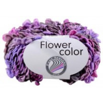 Pelote de laine Flower Color Grundl Purple