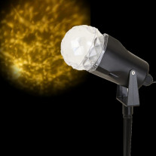 Projecteur LED Lumineux Effet neige blanc chaud