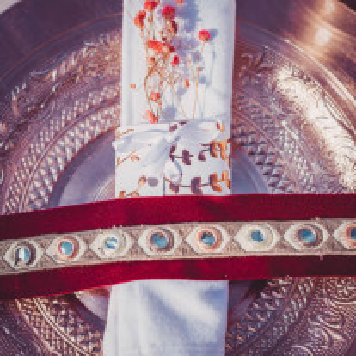 Ruban adhésif miroir rose poudre