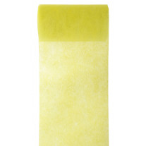 Ruban large Jaune en tissu intisse 10 cm