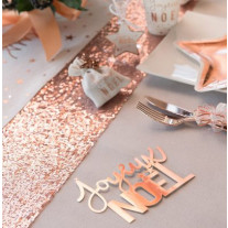Ruban large Sequin Rose gold