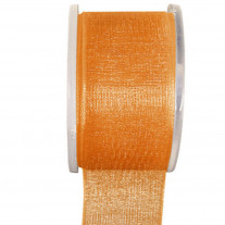Ruban Organza 40mm Orange