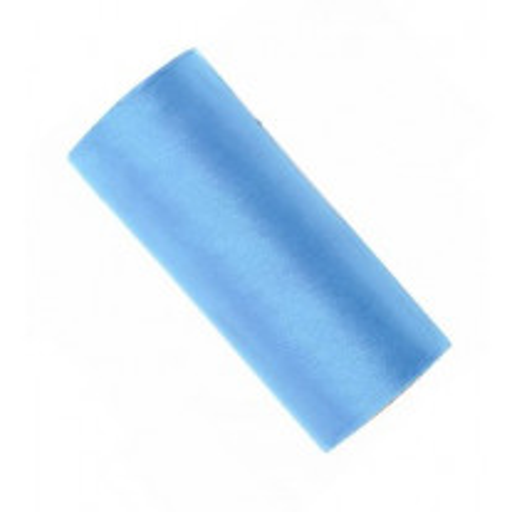 Ruban organza Bleu Ciel large 16cm