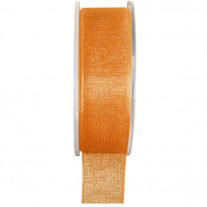 Ruban Organdi 25 mm Orange