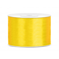 Ruban satin 50mm Jaune