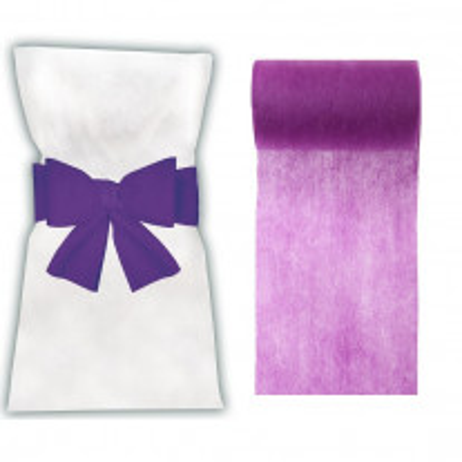 Ruban tissu intissé 100 mètres Violet